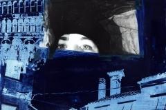 Blaues-Portrait